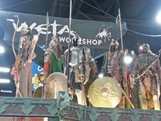 Weta Workshops - replica suits of fantasy armor from the mad geniuses who made props for The Lord of the Rings and Hobbit movies.