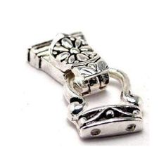 Outstanding Quality Fold over Silver Magnetic Clasps   Etsy