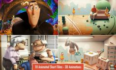 10 Beautiful 3D Animated Short films - Penny Arcade Music Video for Jane Bordeaux's 'Ma'agalim. Read full article: http://webneel.com/25-best-and-award-winning-3d-animated-short-films-your-inspiration | more http://webneel.com/animation | Follow us www.pinterest.com/webneel