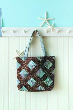 Cute fat quarter bags. #sew #fatquarter #bags