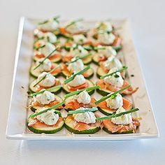 Salmon Cream Cheese Bites....modify this to make easy sushi-like bites at home...YUM!!
