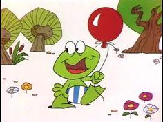 digitaal verhaal: Plons de gekke kikker en de rode ballon