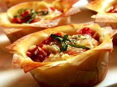 Lasagna Cupcakes Recipe : Food Network - FoodNetwork.com