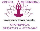 Mediumnidad y Videncia  Isabel Moreno Nicolás