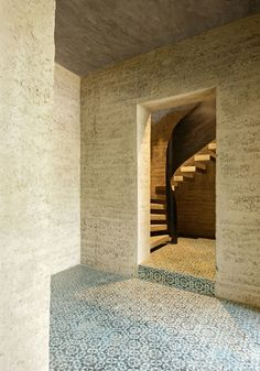 Rauch family Rammed earth home in Schlins, Austria by Boltshauser Architekten