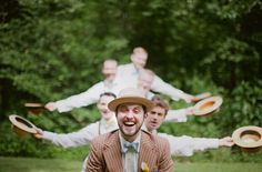 love seeing a wedding party have so much fun with their photos