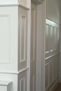 Edwardian Tall Wall Panelling From Painted Wall Panelling