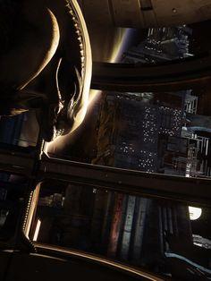 semiotic for door alien isolation Alien Vs Predator, Dead Space, Nathan Drake, Video Game Art, Video Games, Giger Alien, Arte Alien, Alien Isolation, Alien Concept Art