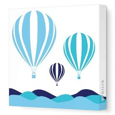 @rosenberryrooms is offering $20 OFF your purchase! Share the news and save! (*Minimum purchase required.) Hot Air Balloon Canvas Wall Art #rosenberryrooms
