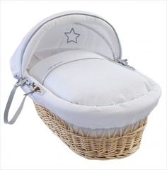 Browse the best-seller Silver Lining bedding collection lovingly made in the UK featuring grey trims and silver stars. Choose from Cot bed Sets to Moses Baskets Moses Basket, Grey Trim, Cot Bedding, Silver Lining, Silver Stars, Bedding Collections, Bassinet, Wicker, Nursery