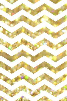 iphone wallpaper Bokeh sparkles & chevron