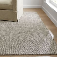 Shades of dark blue and charcoal grey add softness and subtle color to the Trystan rug's underlying maze motif of thick wool. Plush rug is hand hooked of semi-twist wool and viscose yarns by skilled artisans. Shades Of Dark Blue, Dark Grey Rug, Grey Rugs, Beige, Diy Carpet, Carpet Ideas, Wool Carpet, Modern Carpet, House