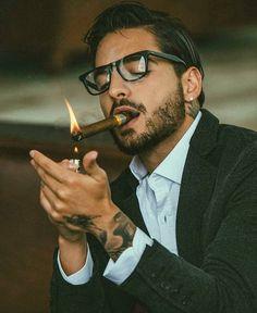Cigars are a lifestyle. Theyre an appreciation of the passing of time. Gentleman Mode, Gentleman Style, Maluma Style, Maluma Pretty Boy, Photos Des Stars, Mode Man, Cigar Men, Man Smoking, Attractive Men