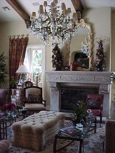 Living Room. Design by Susan Gale, Susan Gale & Associates, Inc.