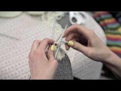 NovitaTube, How to videos (in Finnish), Villasukan kärkikavennus #novitaknits #knitting