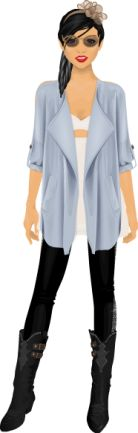 this is my stardoll with cheap clothes