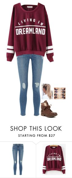 """""""Untitled #396"""" by neb1211 ❤ liked on Polyvore featuring Frame Denim and Rock & Candy"""