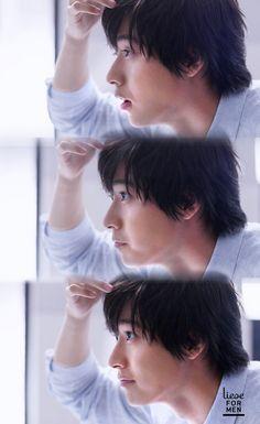Yamazaki Kento 山﨑賢人 Liese for men commercial