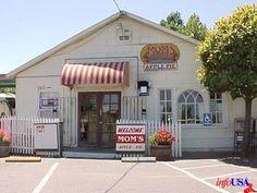 Mom's Apple Pie, Sebastopol, CA: rhubarb and peach are also good! Sonoma County California, California Baby, California Travel, Sebastopol California, West Side Market, California Places To Visit, Places To Travel, Places To Go, Napa Ca