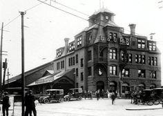 The B&O Railroad Depot in 1911.