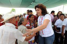 A los adultos mayores de Yucatán les digo fuerte y claro, en mí tendrán la mano que los ayude a seguir caminando con dignidad por la vida.