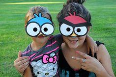 DIY Angry Bird Masks