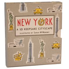 New York – A 3D Keepsake Cityscape