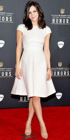 Katharine McPhee in Valentino - NFL Honors 2012 : Look of the Day - February 6, 2012 : InStyle