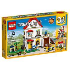 LEGO Creator 31069 Modular Family Villa 2017 Light Brick 728 Pcs for sale online Lego Creator, The Creator, Toys R Us, Kids Toys, Golf Hotel, Light Brick, Villa, Lots Of Windows, Buy Lego