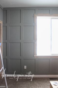 Diy Grid Boad Batten Walls By The Wood Grain Cottage Traditional Decor Board And