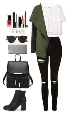 """""""Sin título #270"""" by danny-rv ❤ liked on Polyvore featuring beauty, MANGO, Topshop, Boohoo, Chanel, House of Harlow 1960, Accessorize, Native Union and WearAll"""