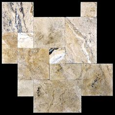 Philadelphia Brushed Chiseled French Pattern Travertine Tiles, Great for indoor or outdoor use, and can increase the value of your property. Travertine Pavers, Stone Tiles, Stone Quarry, French Pattern, Property Values, Floor Decor, Dream Kitchens, Natural Stones, Philadelphia