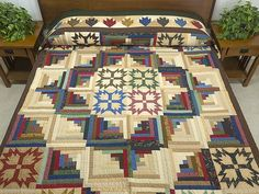 photo of Country Colors Shadow of the Bear Quilt