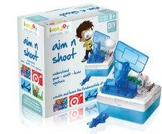 Aim and shoot the child can assemble his own toy to play in leisure time. Along with that he learns how gear shaft lever systems work. He learns how to create a catapult. He learns basic electric circuit and model assembly. Get This For your Kids.    Price: $9.15    @Abbey Cordell Please check out This.