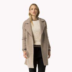 Пальто из вареной шерсти | Коричневый | Tommy Hilfiger® | 8719112375792