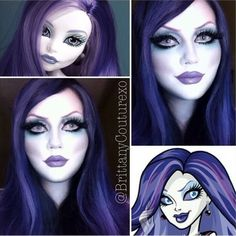 Monster High cosplay :O wow