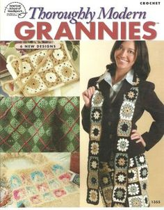 THOROUGHLY MODERN GRANNIES CROCHET BOOKLET