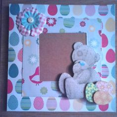 """Easter time :-) #metoyou #easter #handmadecards"""