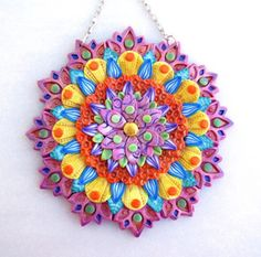 Polymer Clay Artists Guild of Etsy (PCAGOE): Mandala Challenge Winners