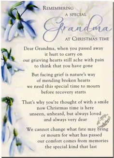grandma's gone to heaven poem - Google Search