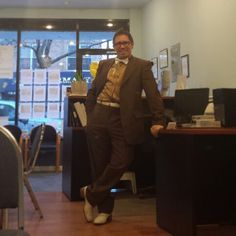 Sometimes you have to show the world you have an awesome sense of humor. This is me in my silly outfit at the office. And YES, it was a very productive day in which all my clients left the office with a HUGE smile on their face. George L. Rosario / Real Estate Salesperson / Coldwell Banker Kueber / 917-945-4211 Cell / 718-628-0100 Office / BigGRealty@gmail.com / #glrosario / Serving the Greater New York City Area since 1990