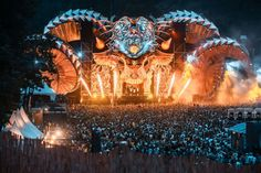 THROWBACK | Electric Love - Music Festival Electric Love Festival, Love Music Festival, Festival Looks, Edm, Festivals, Raves, Stage Design, Electronic Music, Party