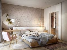 Nightstands, beds, side tables, cabinets or armchairs are some of the luxury bedroom furniture tips that you can find. Every detail matters when we are decorating our master bedroom, right? Bedroom Bed Design, Modern Bedroom Design, Contemporary Bedroom, Home Decor Bedroom, Bedroom Ideas, Hotel Room Design, Interior Design Trends, Interior Design Magazine, Luxury Bedroom Furniture