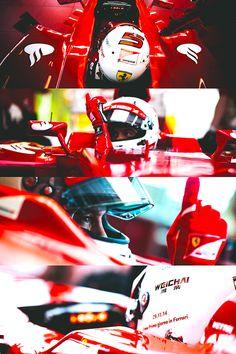 scuderia-f1:  Sebastian Vettel tests for Ferrari