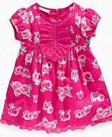 First Impressions Baby Dress, Baby Girls Floral Eyelet Dress