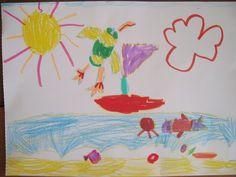 """[CONCOURS """"Dessinez vos vacances d'été""""] Voici les dernières photos pour le concours """"Dessinez vos vacances"""" Anna - 5 ans"""
