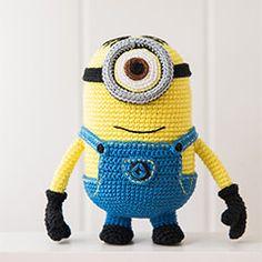 Minion (Despicable Me) amigurumi crochet pattern