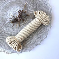 The absolute softest natural Cotton Twisted Rope. This macrame rope is our favourite material to work with, and examples of it can been seen in our fiber art pieces.Each bundle is approxima. Weaving Wall Hanging, Wall Hangings, Rope Basket, Cotton Rope, Plant Hanger, Craft Stores, Fiber Art, Arm Warmers, Home