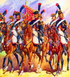 French cavalry during the French Revolutionary War