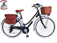 Via Veneto By Canellini Bike Bicycle Citybike CTB Woman Vintage Retro Via Veneto Aluminium